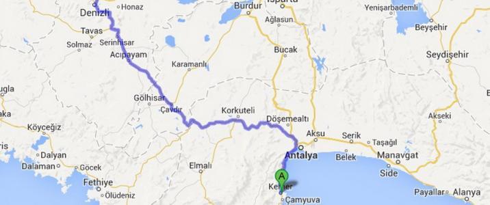 Kemer Pamukkale Daily Trip to UNESCO World Heritage Pamukkale