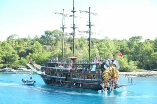from Antalya: Boat Tour at the breathtaking Bays of Kemer - the western Antalya