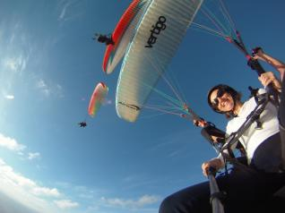 Side: Tandem Paragliding Flight to Cleopatra beach in Alanya