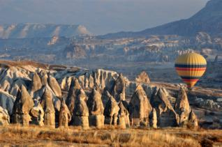 3 day tour to the Unesco World Heritage site Cappadocia from Side