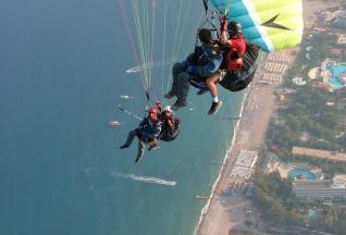 Antalya: Tandem Paragliding from Olympos Mountain