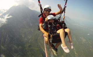Kemer: Tandem Paragliding from Olympos Mountain