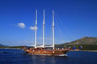 Blue Voyage at the Turquoise Waters of the Bodrum Coastline
