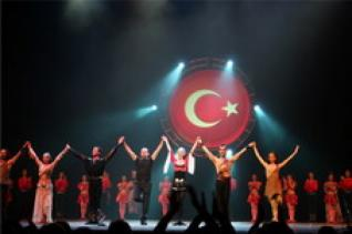 from Kemer: Fire of Anatolia Dance show at Aspendos Arena
