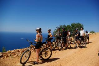 Daily MTB tour through coastal route from Kas and Kalkan