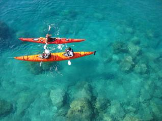 Kas Turkey: Full Day Sea Kayaking tour at Kekova Sunken City