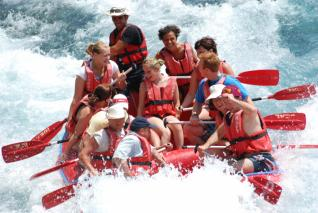 River Rafting Full Day Fun at National Park of Antalya from Side