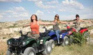 Quad Bike tour in Cappadocia the land of Beautiful Valleys