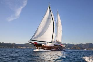 Blue Cruise Cabin charter Fethiye to 12 Islands (4 Days - 3 Nights)