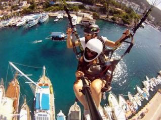 Unforgettable Tandem Paragliding Flight in Kas und Kalkan