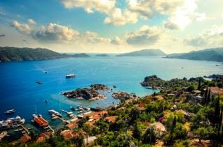 Full Day Boat Trip at the Sunken city Kekova from Kas