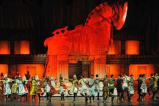 Alanya Activity: TROY Dance show at Gloria Aspendos Antalya