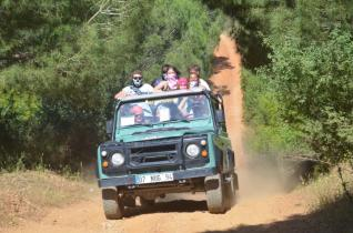 Full day Jeep Safari tour at the Taurus Mountains from Side