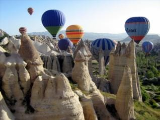 from Side: 2-Day Cappadocia Tour with Optional Hot Air Balloon Ride