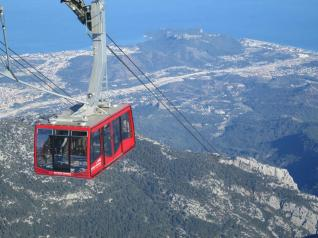 Olympos Cable Car Ride to Tahtali Mountains in Antalya