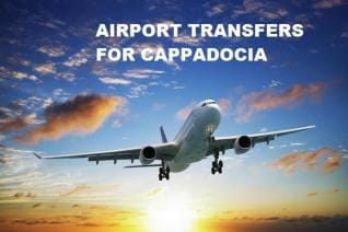 Private Airport transfers between Cappadocia airports and Hotels in Cappadocia