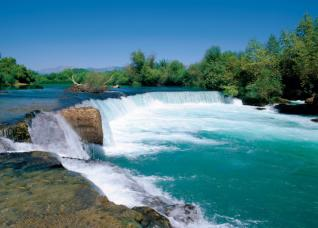 Side: Bazaar tour with River Boat Cruise and Manavgat waterfalls