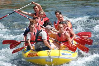 Alanya Rafting: River Rafting Full Day Fun at National Park of Antalya