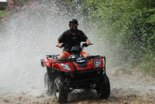 Half Day Quad Bike Safari Fun and Adventure Tour in Alanya