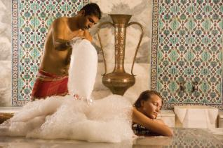 Refreshing and Relaxing massage at the traditional Turkish Bath in Alanya