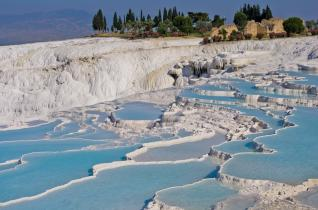 Kemer to Pamukkale: Daily Trip to UNESCO World Heritage Pamukkale