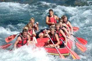 River Rafting Full Day Fun at National Park of Antalya from Kemer