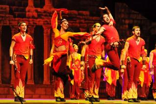 Legendary Dance show Fire of Anatolia at Aspendos Arena