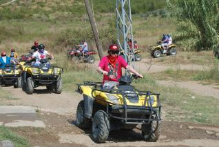 Off Road Quad Bike Abenteuertouren in Antalya