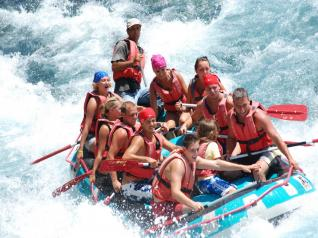 Full-Day White Water Rafting at Köprülü Canyon from Antalya