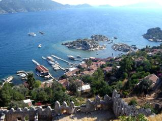 Alanya: Lycian Tombs of Myra and Kekova Sunken City Boat Tour