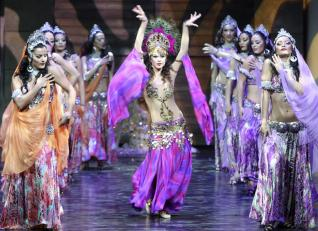 TROY Dance show at Gloria Aspendos arena of Antalya